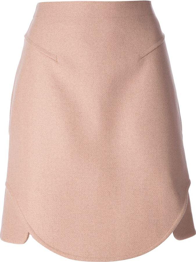 Carven split skirt