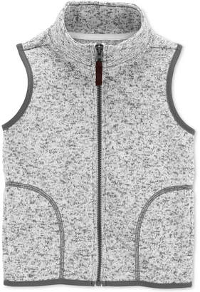 Carter's Toddler Boys Full-Zip Fleece Vest