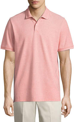 ST. JOHN'S BAY Short-Sleeve Legacy Oxford Piqu Polo