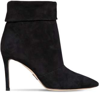 Paul Andrew 85mm Banner Suede Ankle Boots