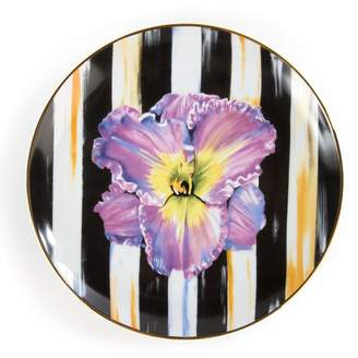 Mackenzie Childs Mackenzie-childs Thistle & Bee Iris Salad Plate (21cm)
