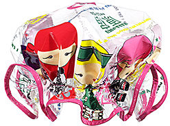 Harajuku Lovers Wicked Style Shower Cap