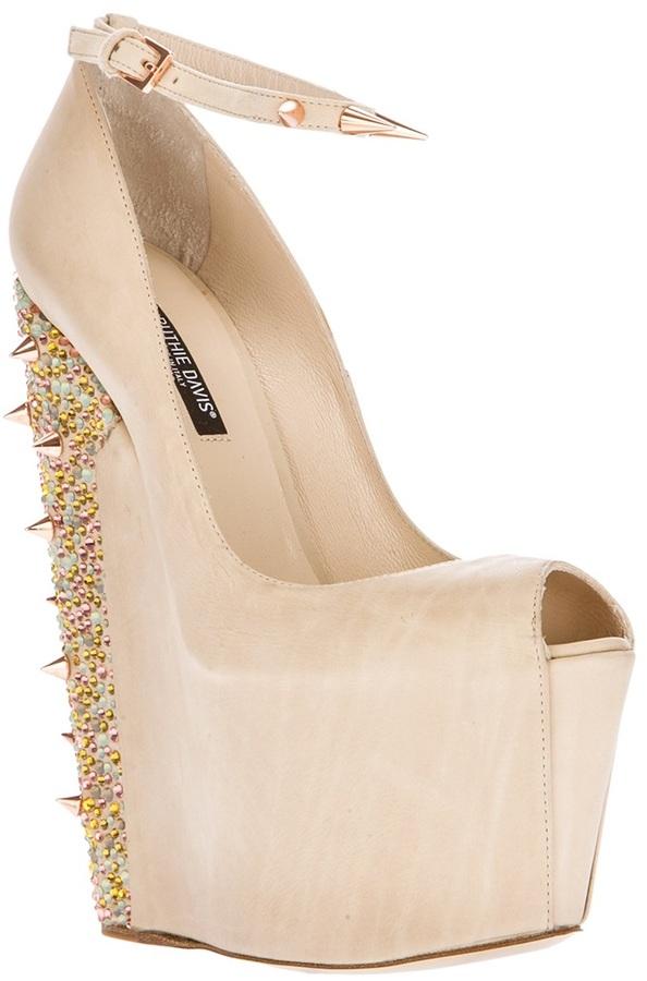 Ruthie Davis wedge shoe