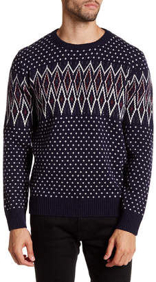 Barque Vintage Fair Isle Knit Pullover $145 thestylecure.com