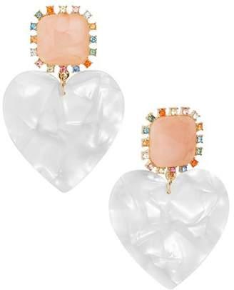 BaubleBar Aerilyn Heart Earrings