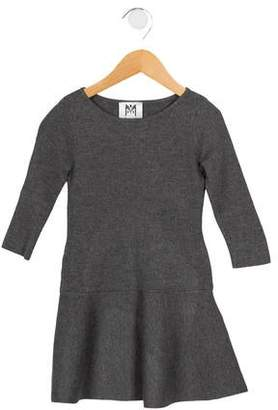 Milly Girls' Peplum Knit Dress