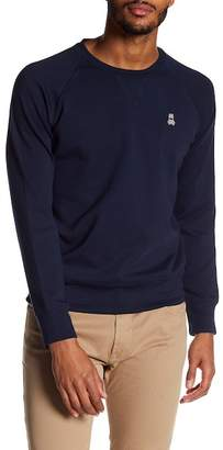 Psycho Bunny Raglan Sleeve Crew Neck Sweater