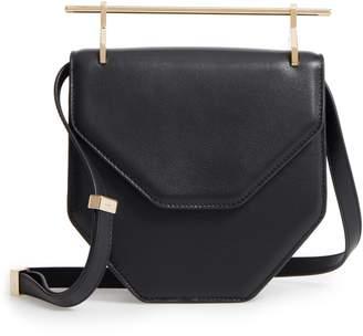 M2Malletier Amor Fati Single Calfskin Leather Shoulder Bag