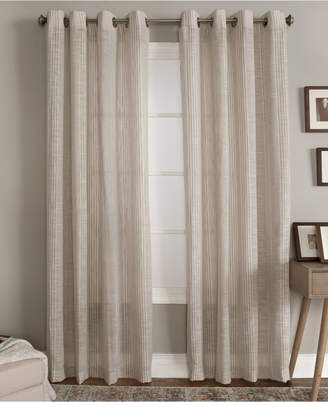 "Miller Curtains Bazille 50"" x 63"" Stripe Window Panel"