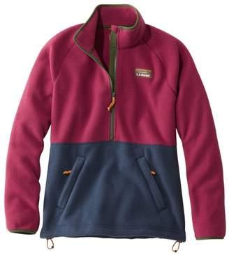 L.L. Bean L.L.Bean Women's Mountain Classic Colorblock Fleece Pullover