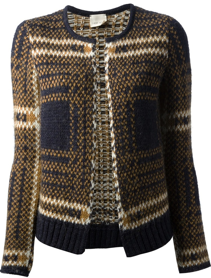 Circus Hotel open front cardigan