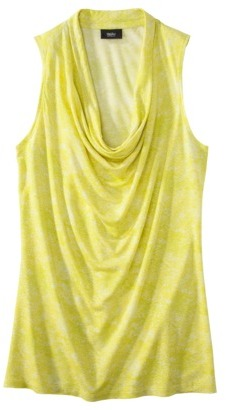 Mossimo Womens Cowl Neck Tank - Assorted Colors