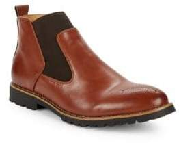 Johnston & Murphy Herden Leather Chelsea Boots