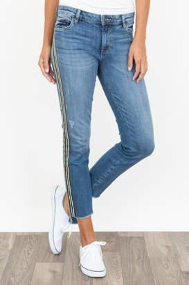 KUT from the Kloth Reese Varsity Stripe Jean