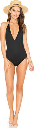vitamin A Bianca One Piece in Black $169 thestylecure.com