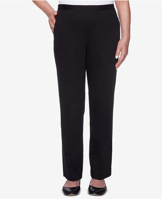 Alfred Dunner Petite Travel Light Pull-On Pants