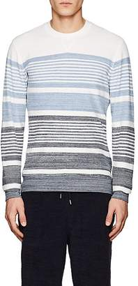 Orlebar Brown MEN'S PIERCE STRIPED COTTON TERRY SWEATSHIRT