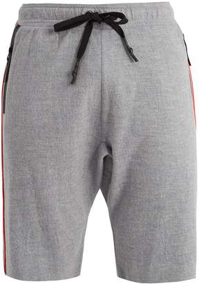 P.E Nation Bolter contrasting-trim wool shorts