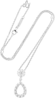 Chopard L'heure Du Diamant 18-karat White Gold Diamond Necklace