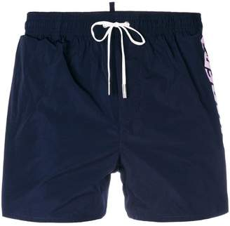 DSQUARED2 branded swim shorts