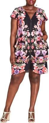 City Chic Chelsea Mirror Sheath Dress