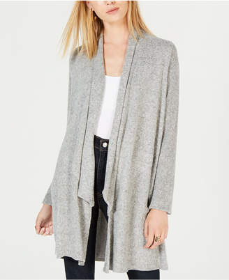 BCX Juniors' Draped Cozy Cardigan