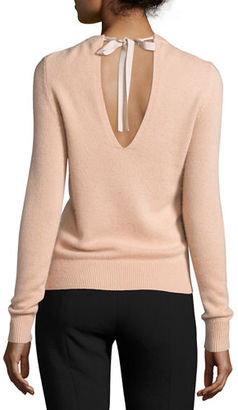 Theory Salomina Cashmere Tie-Back Sweater $207 thestylecure.com