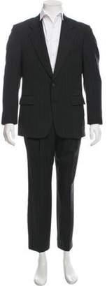 Pierre Balmain Wool Striped Suit grey Wool Striped Suit