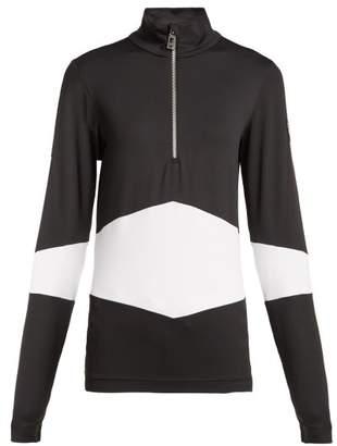 Toni Sailer - Luna Half Zip Baselayer Top - Womens - Black White