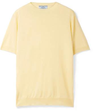 Prada Wool Sweater - Pastel yellow