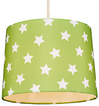 John Lewis & Partners little home at Star Lampshade, Green
