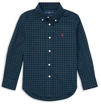 Ralph Lauren Boys' Poplin Shirt - Little Kid