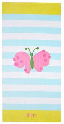 Pottery Barn Kids Butterfly Stripe Beach Towel