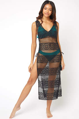 Pilyq Black Joy Lace Cover Up