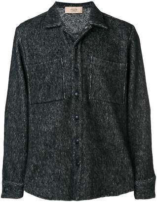 Maison Flaneur chest pocket shirt-jacket