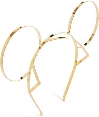 Gigi Burris Millinery x Disney Mickey Signature Mickey Gold Ears Headband