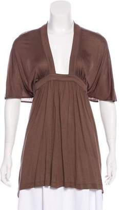 Tomas Maier Dolman Pleated Tunic w/ Tags