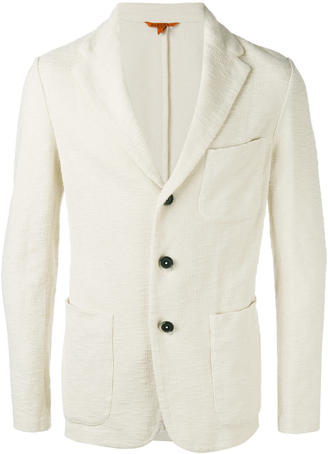 Barena Barena three button blazer