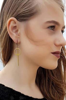 Dynamo Geometric Minimalist Earrings
