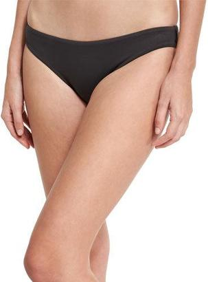 Seafolly Seafolly Mini Hipster Swim Bottom, Gray $62 thestylecure.com