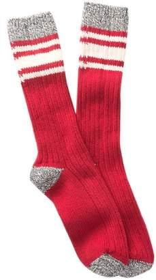 Woolrich 60 Needle Camp Crew Socks