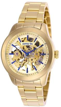 Invicta Women's 25751 Vintage Automatic 3 Hand Gold Dial Watch