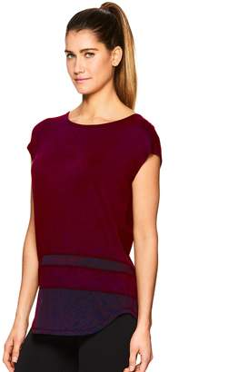 Gaiam Women's Naomi Mesh Trim Tee