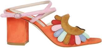 Paula Cademartori Kartell By Classic Sandals