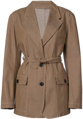 Lemaire tie waist jacket