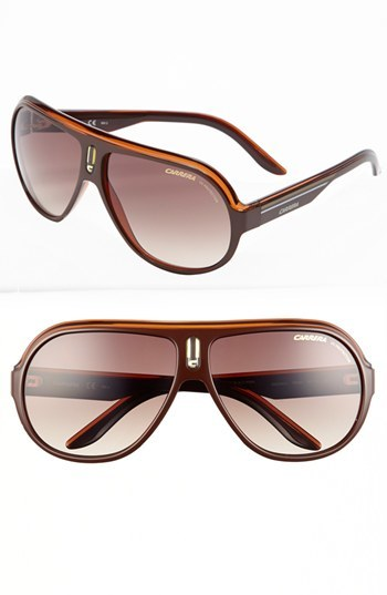 Carrera Eyewear 'Speedway' 63mm Aviator Sunglasses