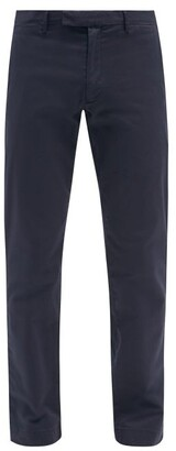Polo Ralph Lauren Cotton Blend Chino Trousers - Mens - Navy