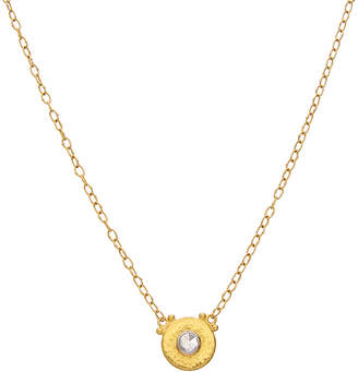 Gurhan Delicate 24K, 18K, & Platinum 0.23 Ct. Tw. Diamond Necklace