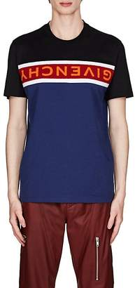 Givenchy Men's Logo-Inset Colorblocked Jersey T-Shirt