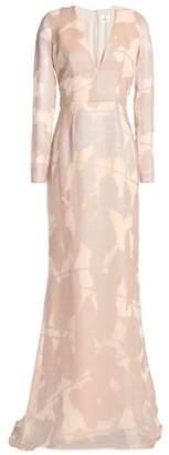 J. Mendel J.mendel Burnout-Silk Gown